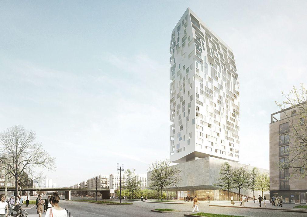 Porsche design selects winning proposal for frankfurt for Graphic design frankfurt