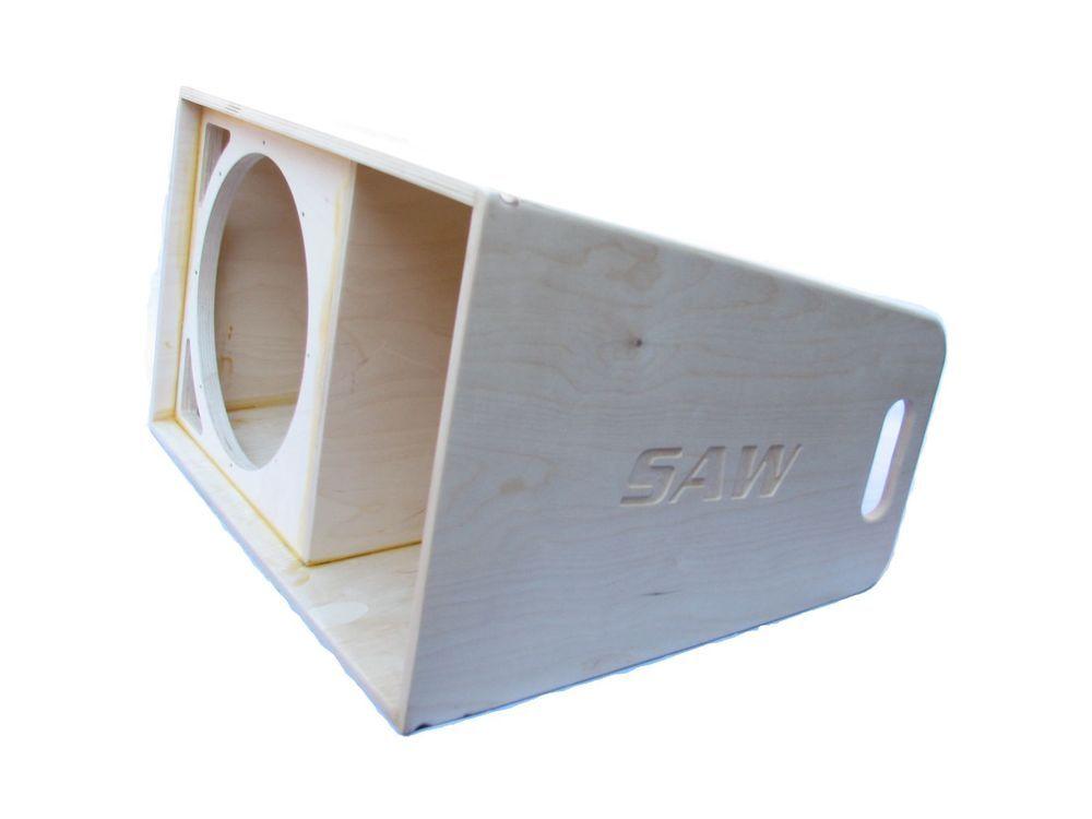 Plans To Build La112 Line Array Speaker Cabinet Dual And Single 12 Woofer Speaker Box Design Speaker Plans Speaker Design