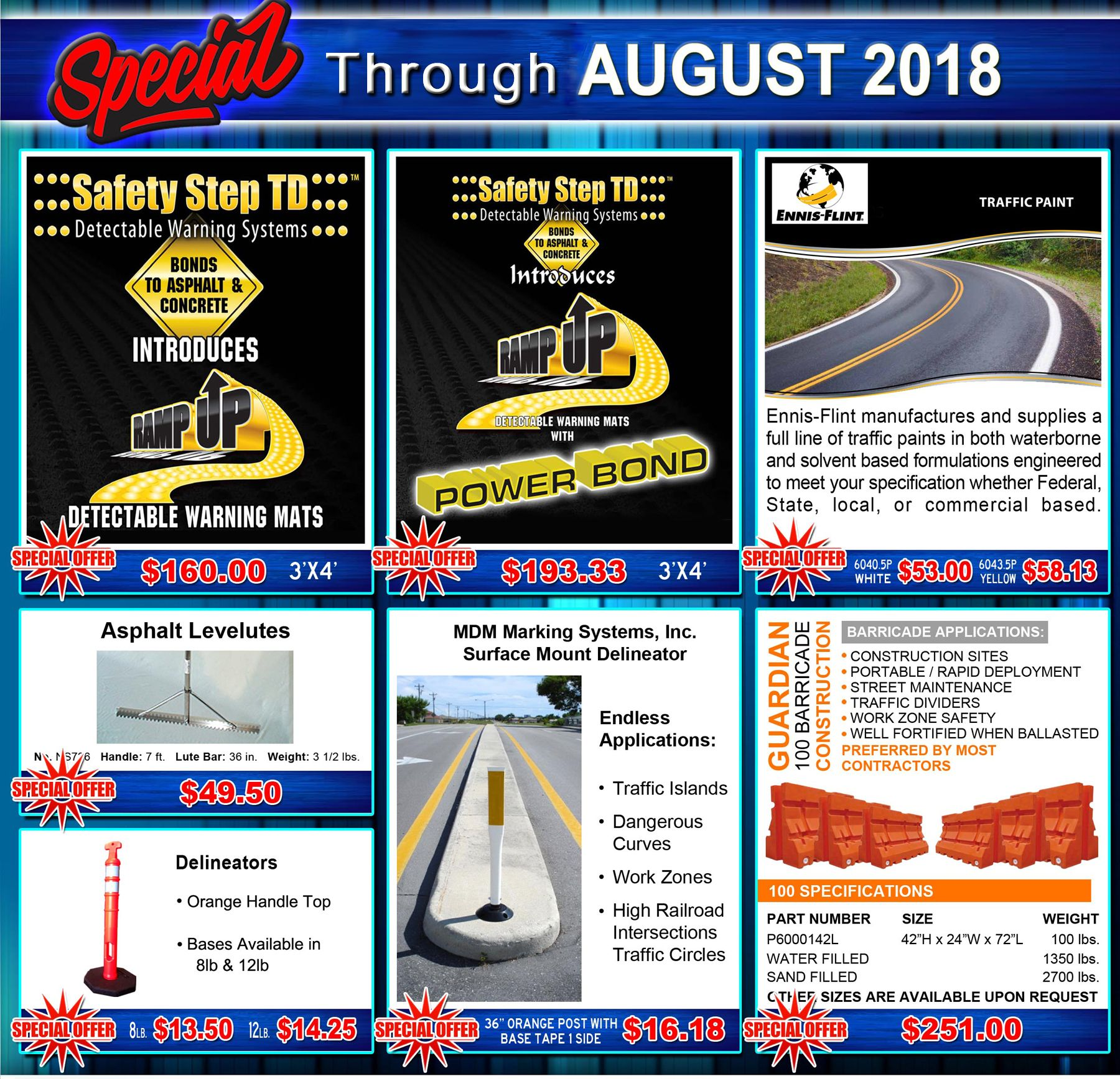 Don T Miss Our Specials Through August Safetystep Rampup