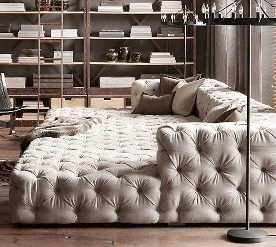 DREAM Restoration Hardware Sofa Bed Restoration Hardware