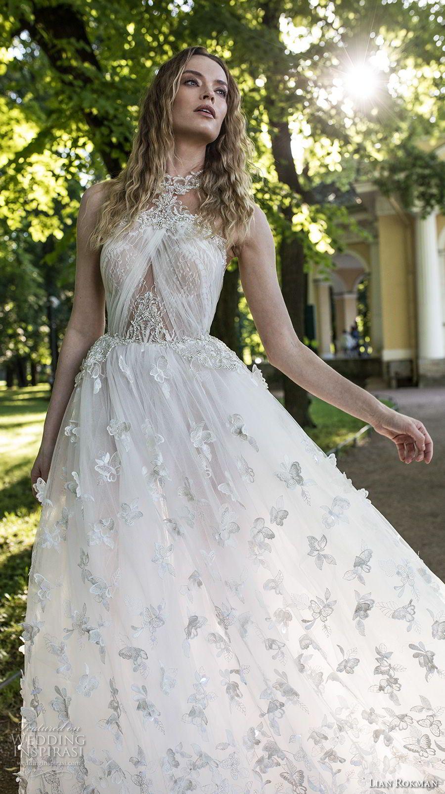 "Lian Rokman 2018 Wedding Dresses — ""Stardust"" Bridal Collection | Boda"