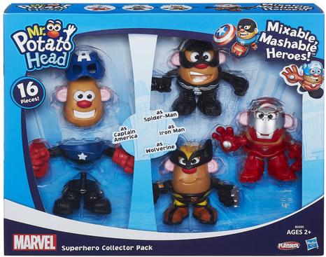 10 Superhero Toys Every Kid Will Love Superhero Toys Potato Heads Mr Potato Head