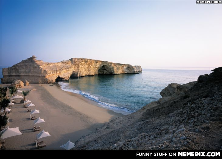 Beach In Muscat Oman With Images Places Around The World Places To Travel Places
