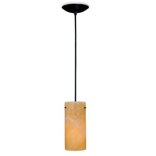 """Amber Art 1-light 4.375"""" Black Mini Pendant At Menards"""