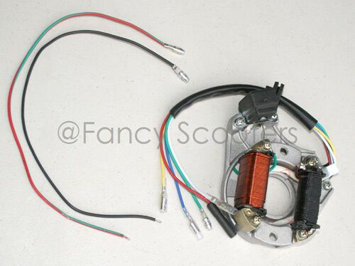 Ebay Advertisement  Magneto Stator 2 Coils With 5 Wires