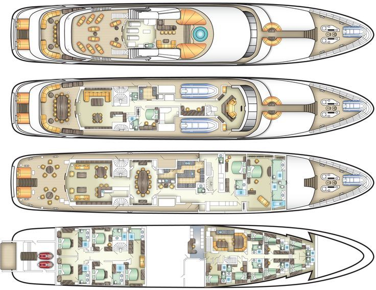 the eclipse private yacht plans - Google Search | Luxury ...