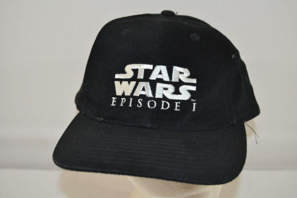 Star Wars Episode 1 Pepsi Black Baseball Cap Adjustable Back  StarWars   BaseballCap 3c720d5e84a5