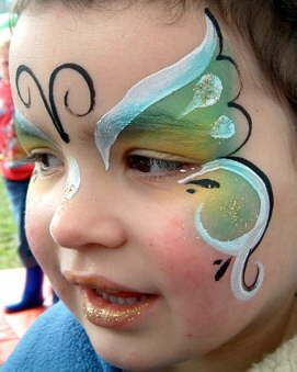 Fun Face Paint that is included in the Butterfly Fairy Makeover. Starting March 1st. $25/ per girl. A Repin 4u from http://Splashtablet.com The suction-mount, waterproof iPad case. $39, ships free.