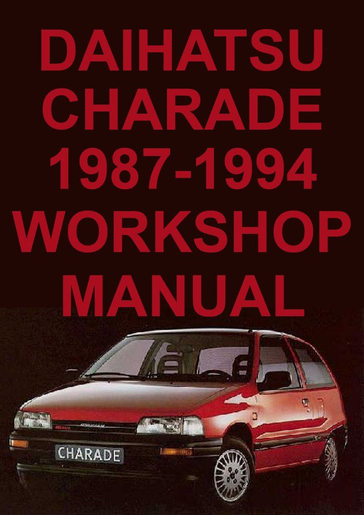 daihatsu charade workshop manual free download wiring diagram Daihatsu Bego daihatsu charade g100 1987 1994 workshop manual daihatsu @ car daihatsu charade workshop manual free download