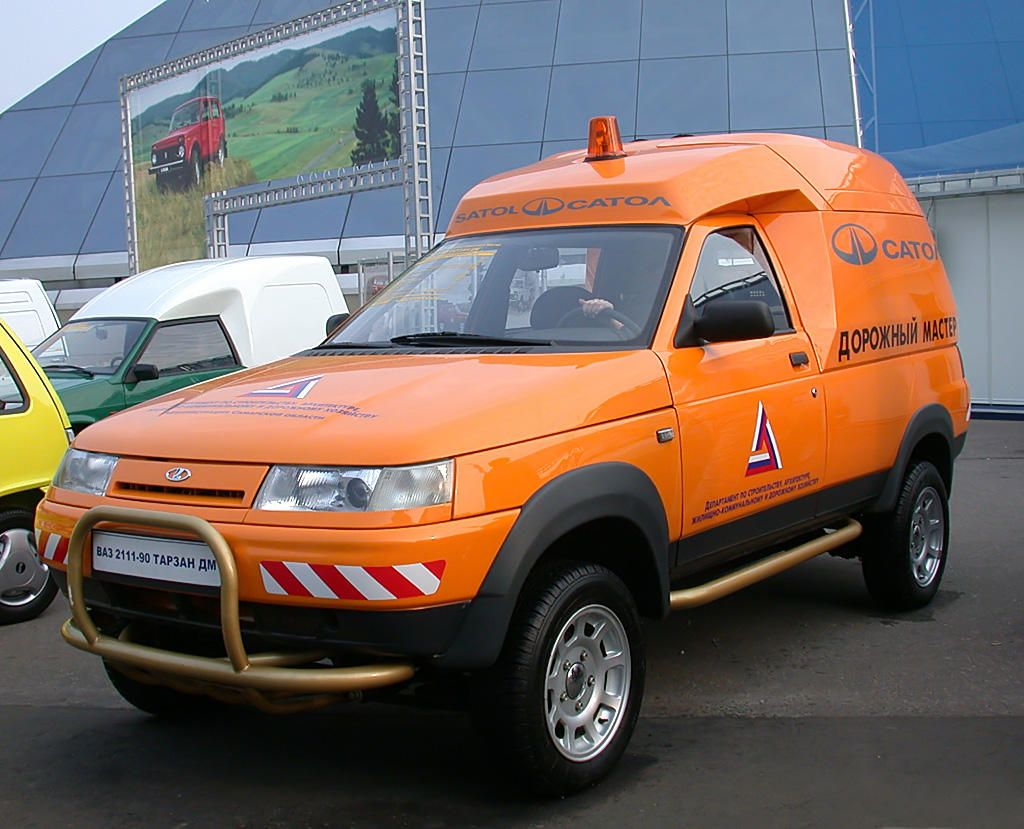 Lada Tarzan - Russian beast