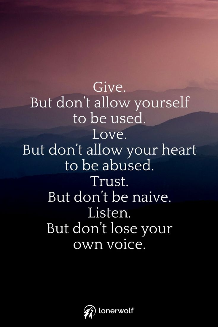 Love Trust Listen Reconnect with your inner wisdom and strength