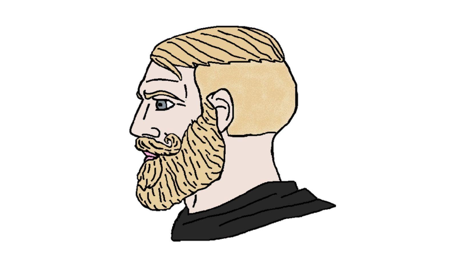 Pin de L Studio em Comedy. | Caras loiros, Meme desenhando ...