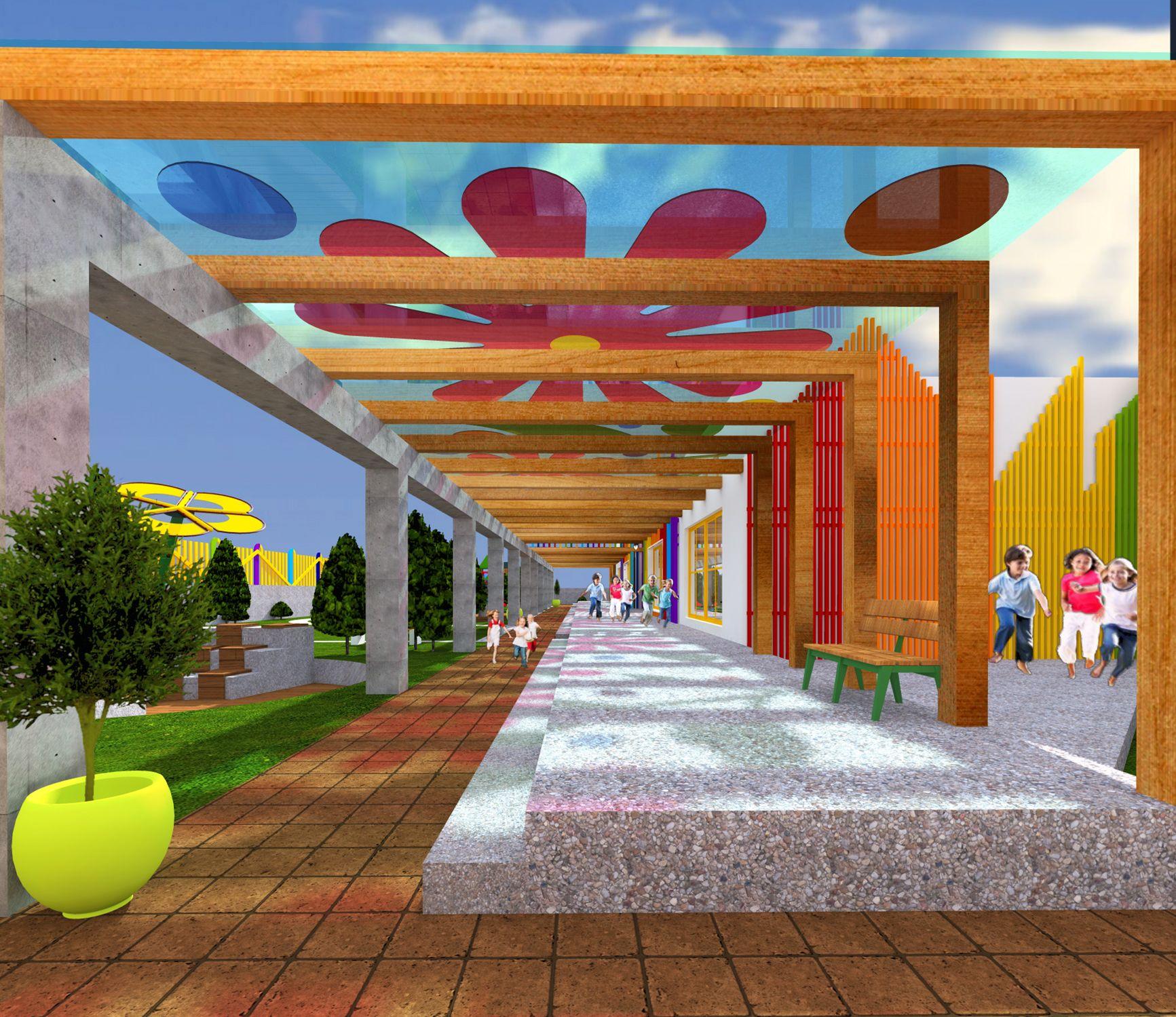Kindergarten Exterior Design