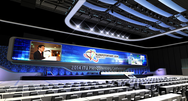 2015 ITU main stage design