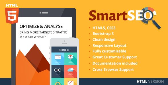 Smartseo  Seo  Marketing Html Theme  Current Version  See