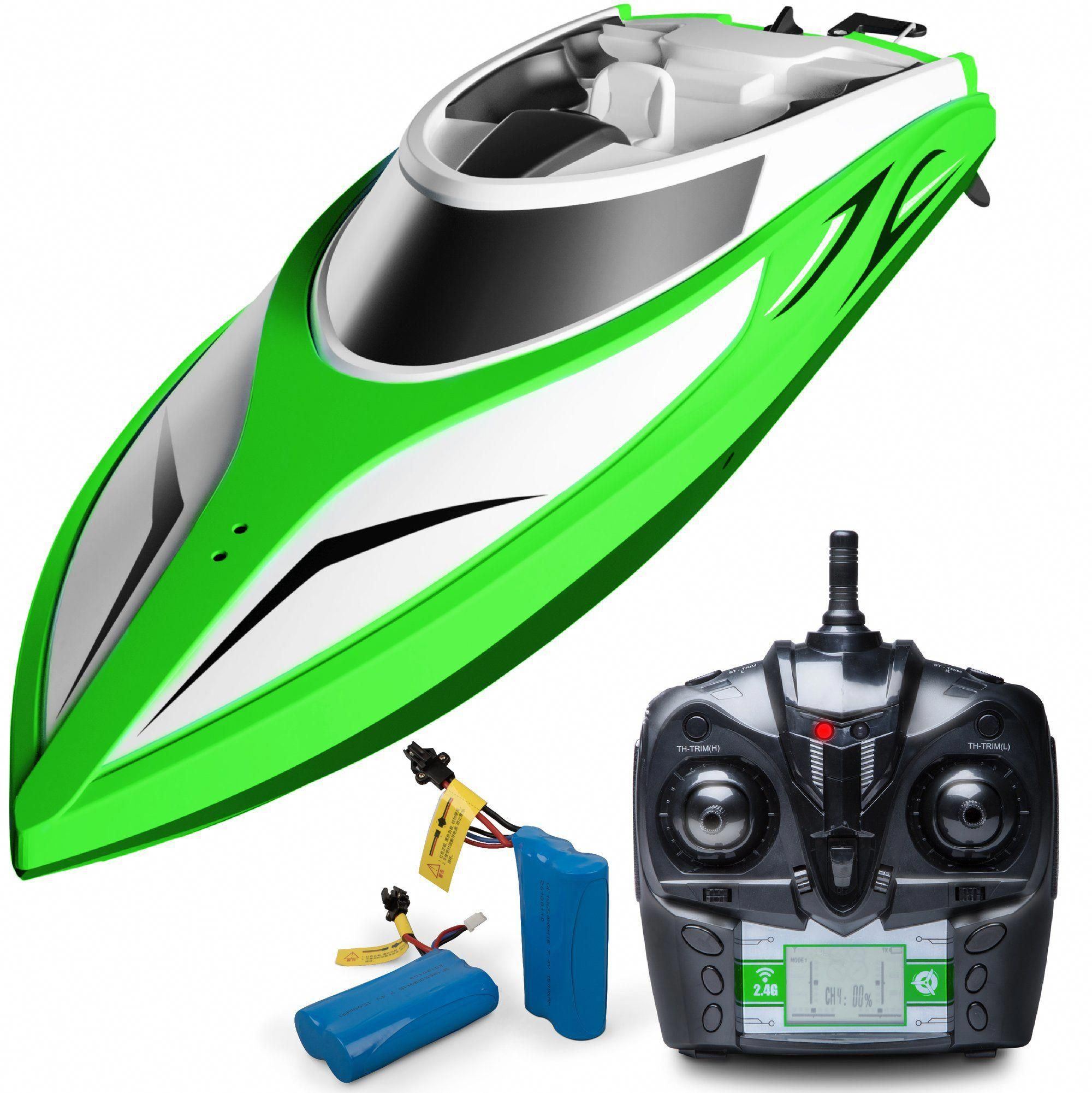 H105 Velocity Fast Remote Control Boat for Pools and Lakes