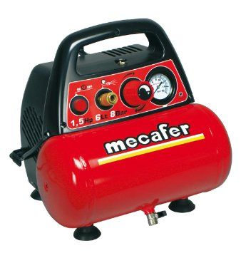 e393179ad167 Portable Mecafer 425528 Compressor 6 L 15 hp | Compressor | Air ...