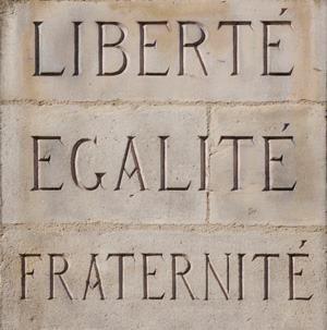 Liberte Egalite Fraternite Palabras Francia Citas