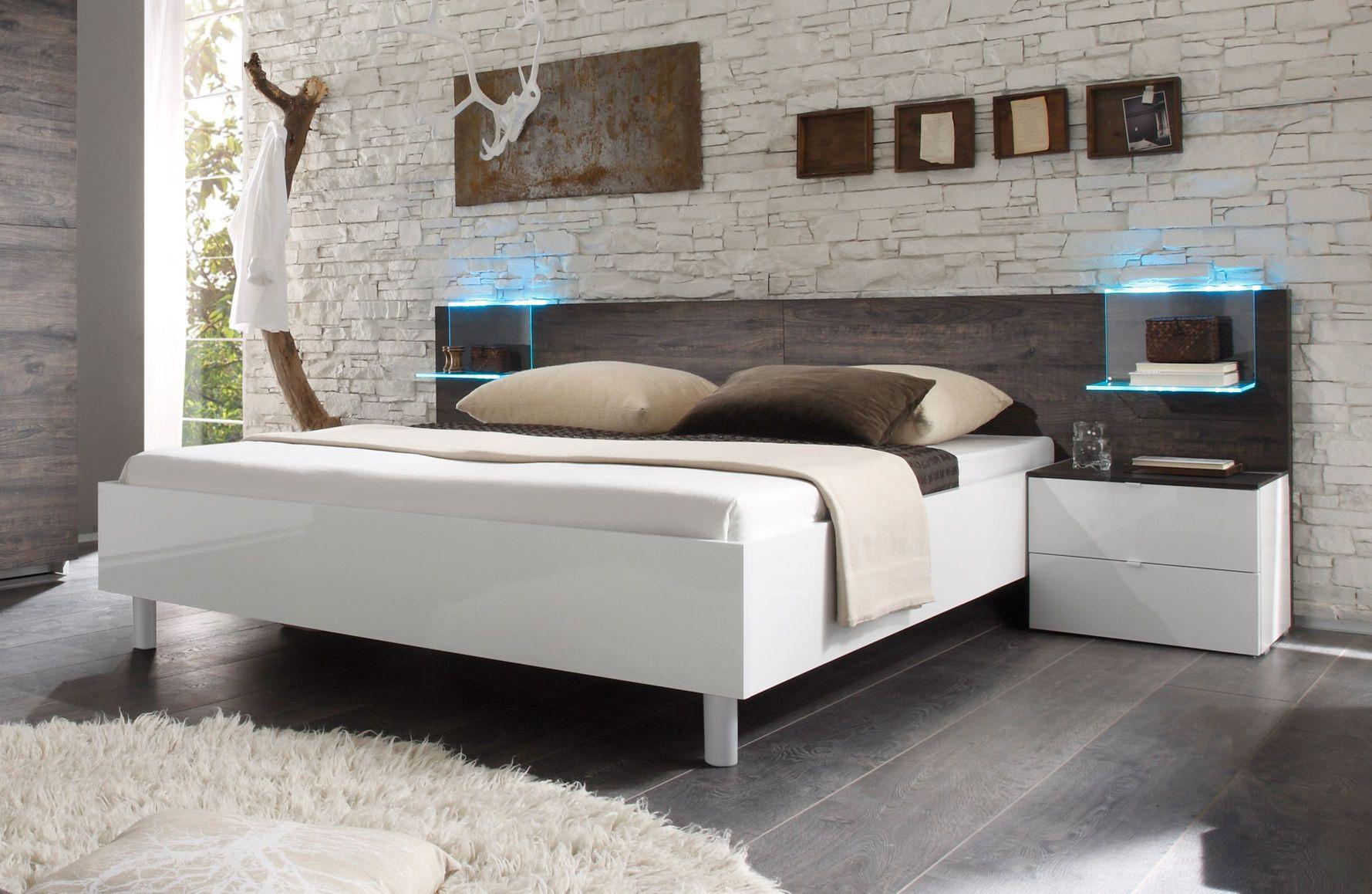 Genial Schlafzimmer Komplett Weiß Hochglanz