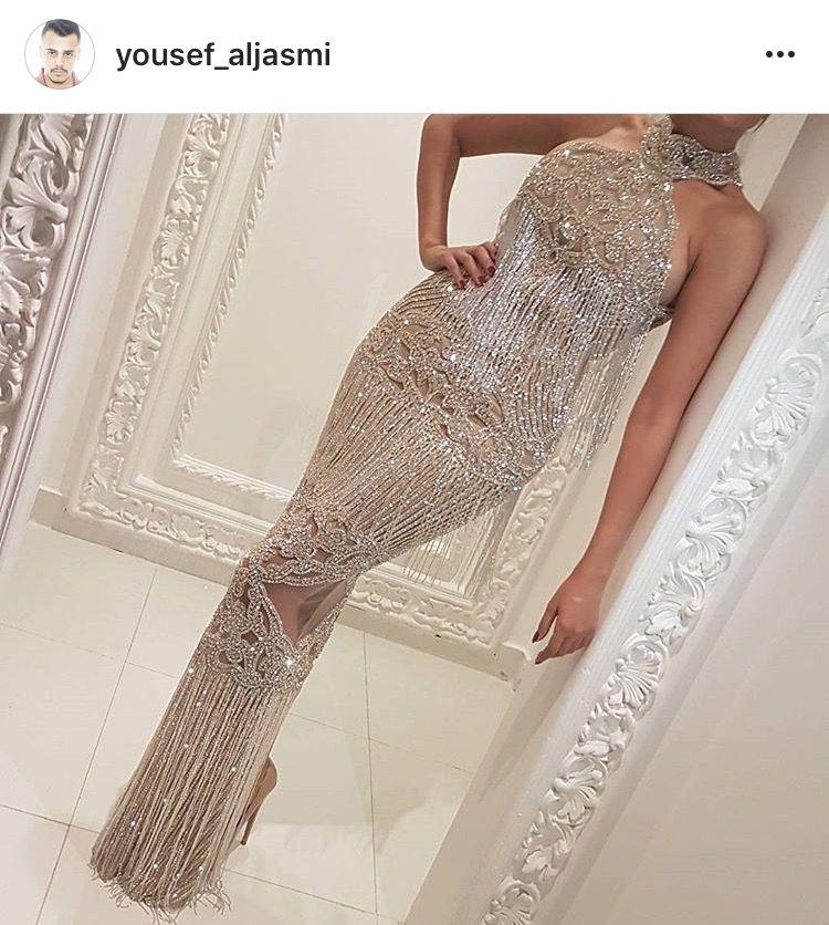 Yousef aljasmi dress | Jasmiko in 2019 | Dresses, Prom