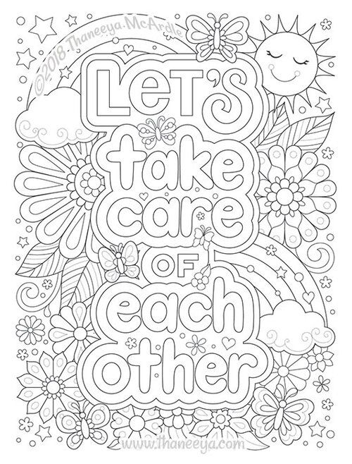Live a Colorful Life Coloring Book by Thaneeya McArdle ...
