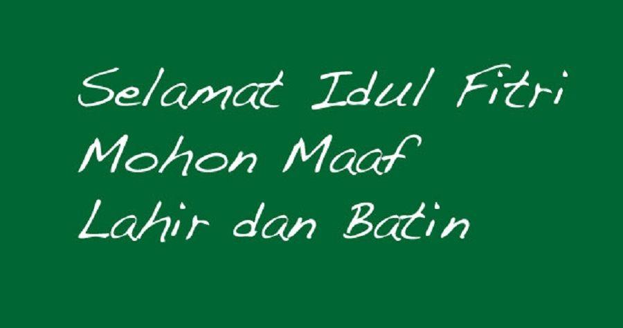30 Desain kartu ucapan Selamat Lebaran & Idul Fitri ...