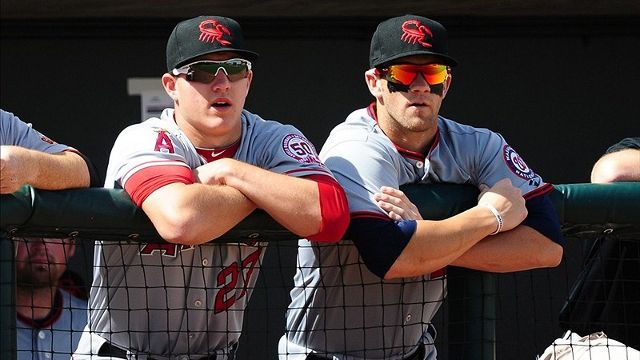 Mike Trout and Bryce Harper; The Future of the MLB
