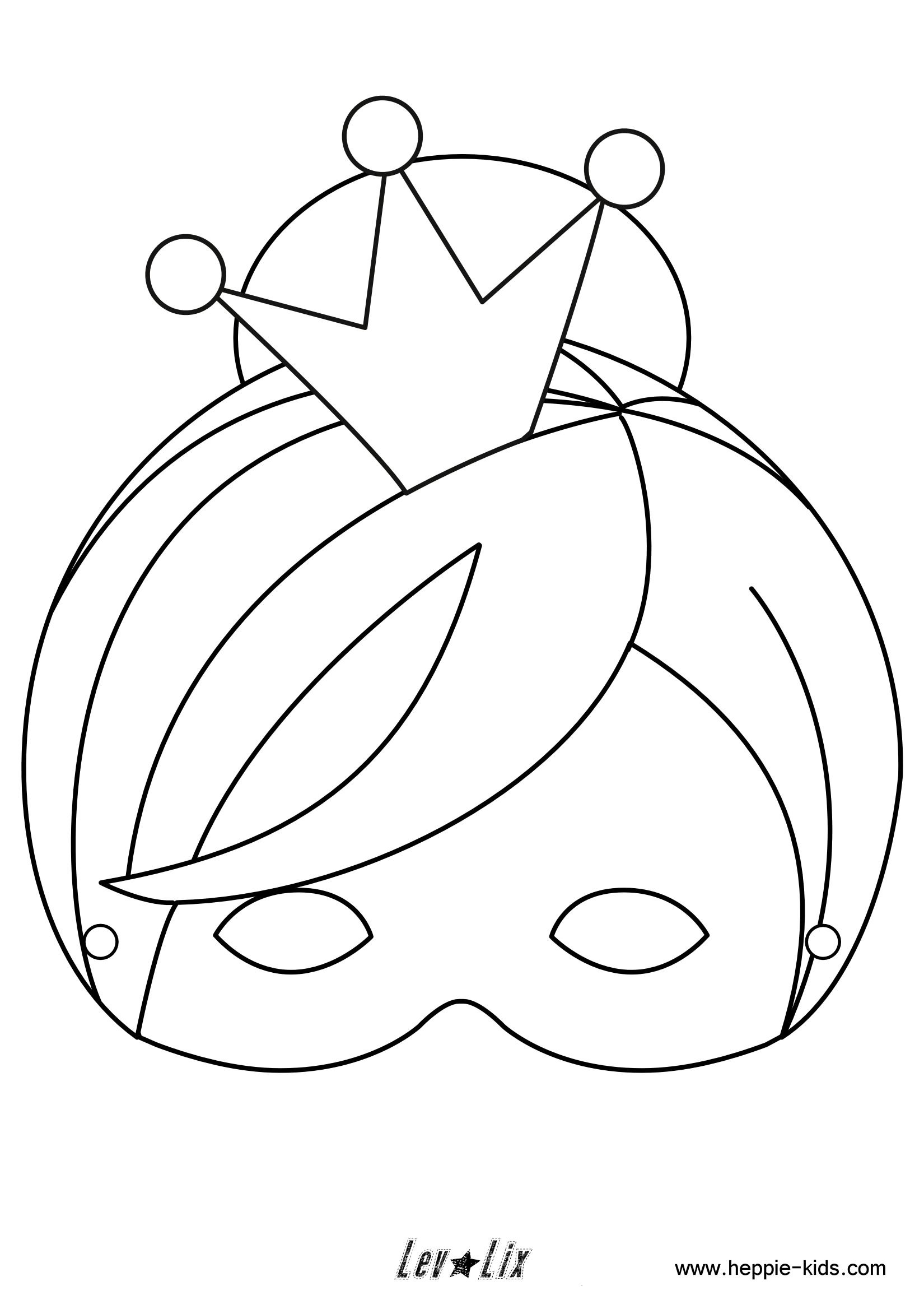 Prinsessenmasker Unicorn Coloring Pages Coloring Pages Free Printable Crafts