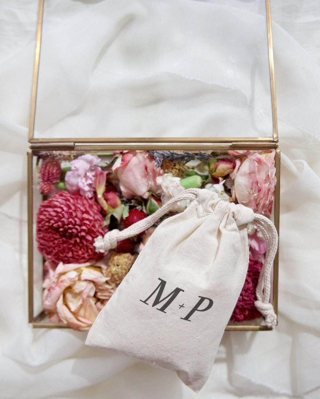Personalized Monogram Wedding Favor Bags, 6-Pack | Wedding favor ...