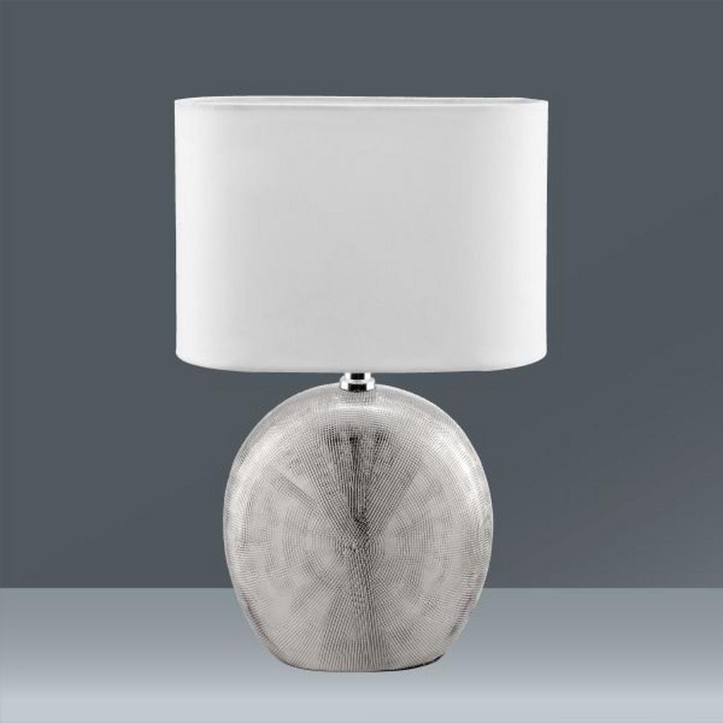 nachttischlampe schirm design tischlampe lampe led