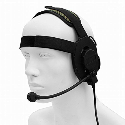 WISHRING Z Tactical Miltary Heavy Duty Bowman Elite II Hd03 Headset *** See this great product.Note:It is affiliate link to Amazon.