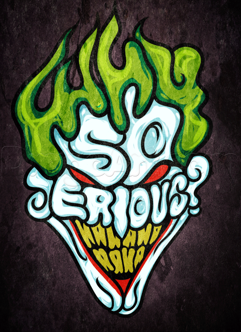 drawn joker wallpapers and - photo #32