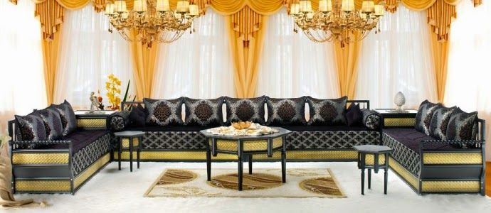 Acheter un salon marocain à bordeaux | Salon marocain, Salon ...