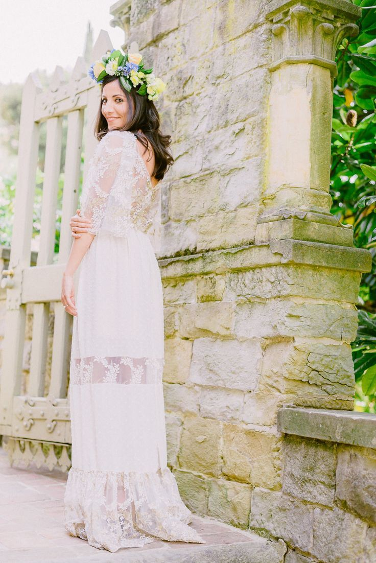Tendance robe du mariage boho chic wedding dress