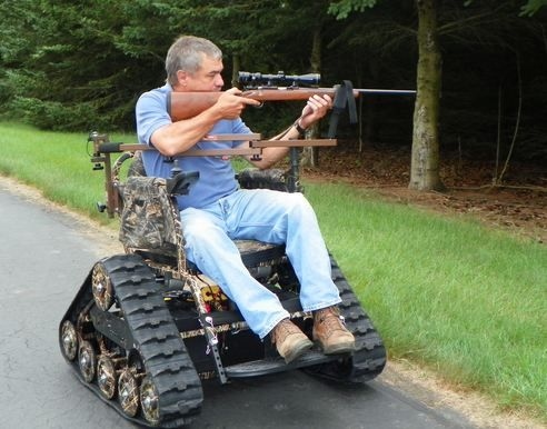 Extreme Offroad Tracked Wheelchair Super Cool Chair That
