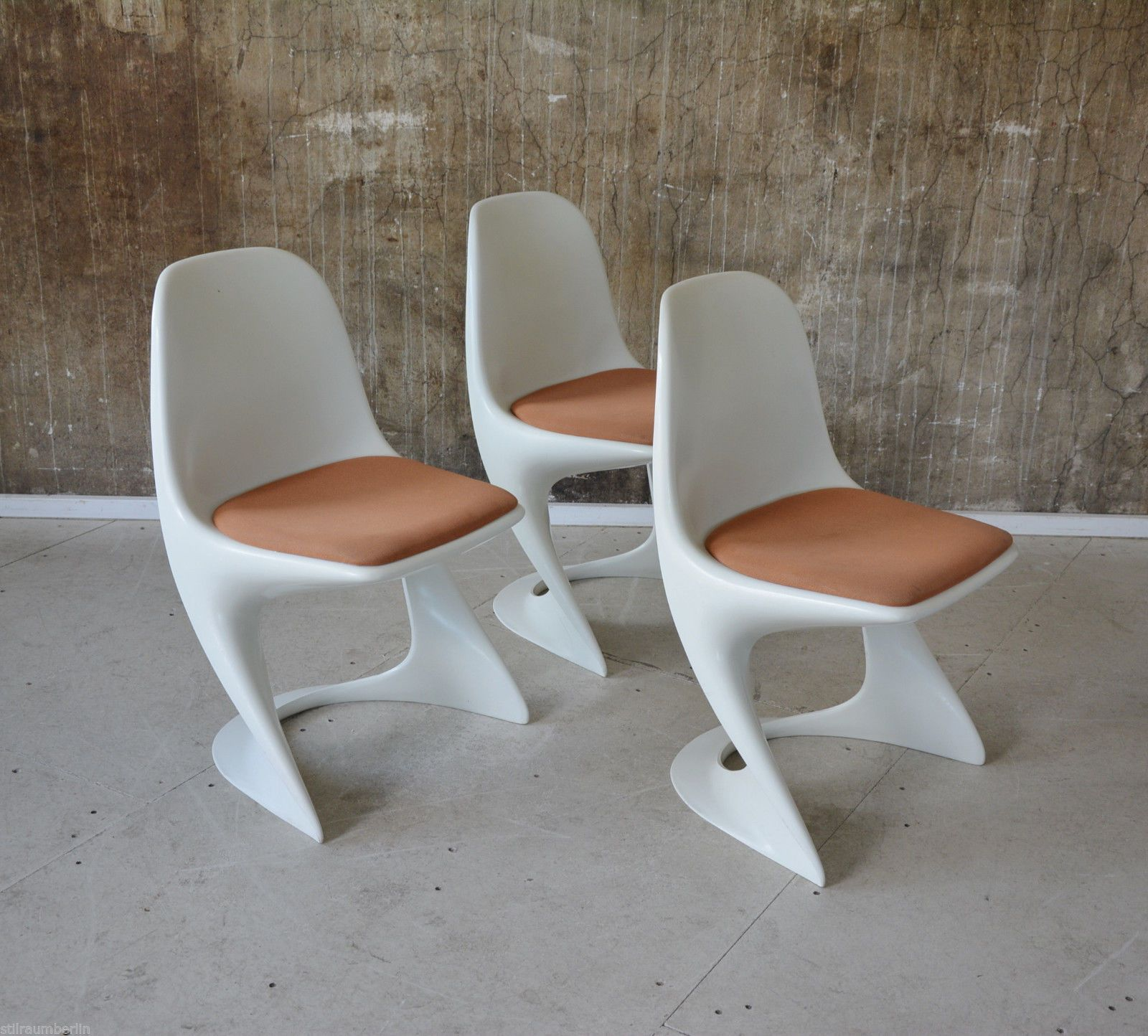 70s chairs is frank o gehry s cardboard chair wiggle side chair - 1 3 Casala Stuhl Alexander Begge Chair Space Age Eames Panton Ra I 70er 70s