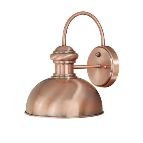 Franklin Copper Outdoor Wall Mounted Light