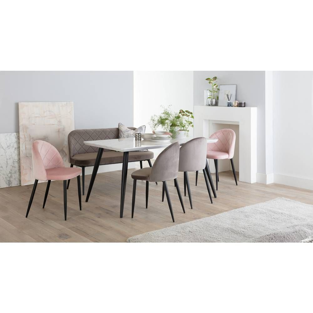 Buy Argos Home Sienna Marble Effect 6 Seater Dining Table Grey Dining Tables Argos Grey Dining Tables Furniture Dining Chairs Dining Chairs
