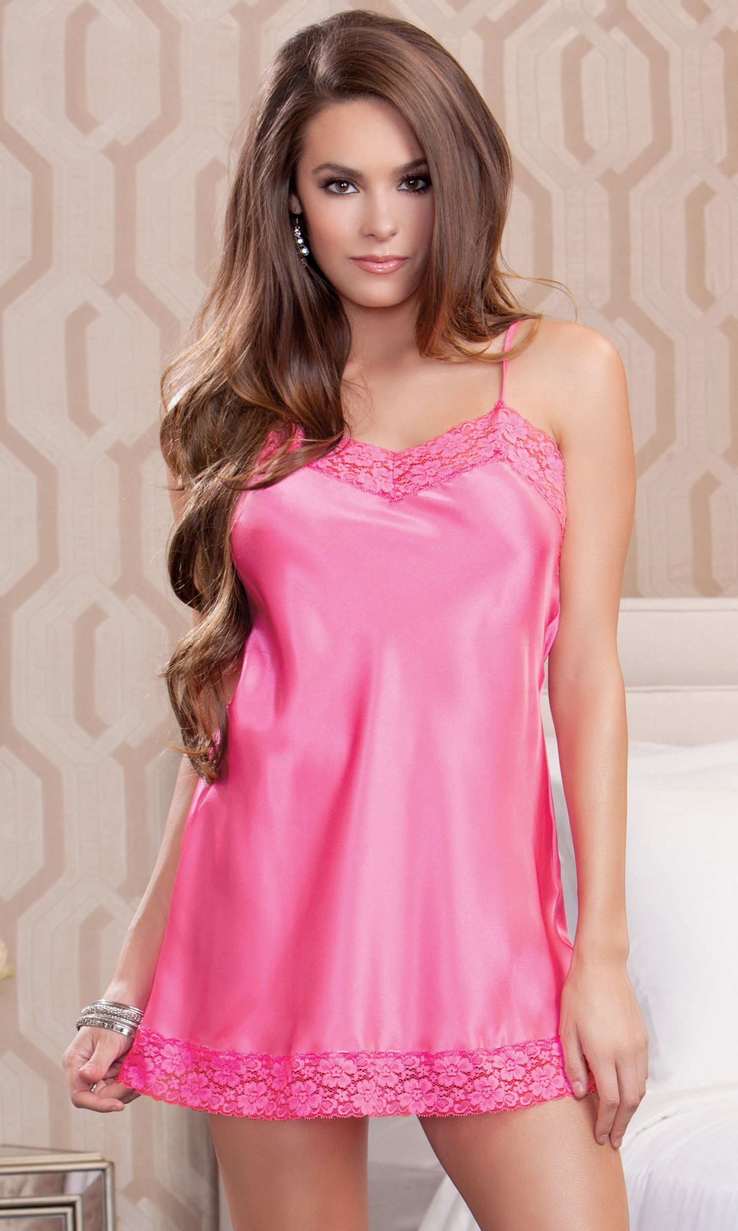 Satin And Lace Chemise | Pinterest