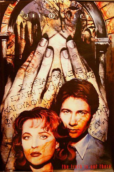 X-Files The Truth Is Out There Poster 23 X 35
