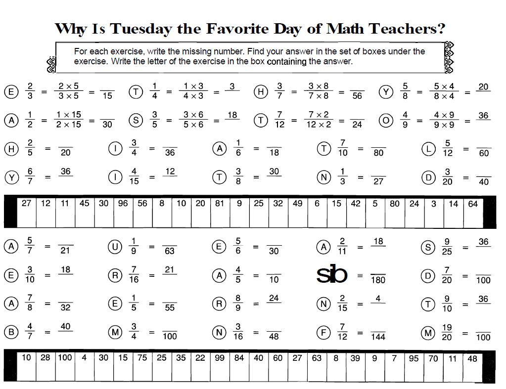 Worksheets Fraction Review Worksheet image result for equivalent fractions worksheet algebra 8 worksheet