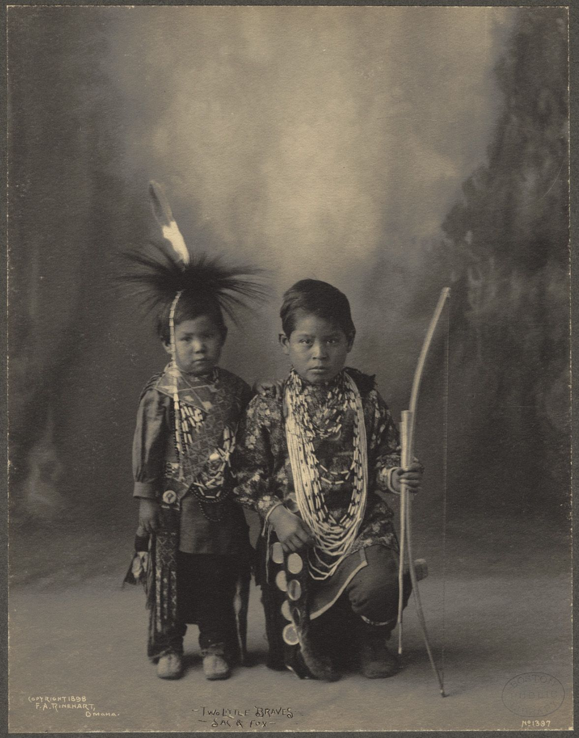 Fascinating 19th Century Portraits of Native American Indians ~ By Photographer Frank A. Rinehart #nativeamericanindians