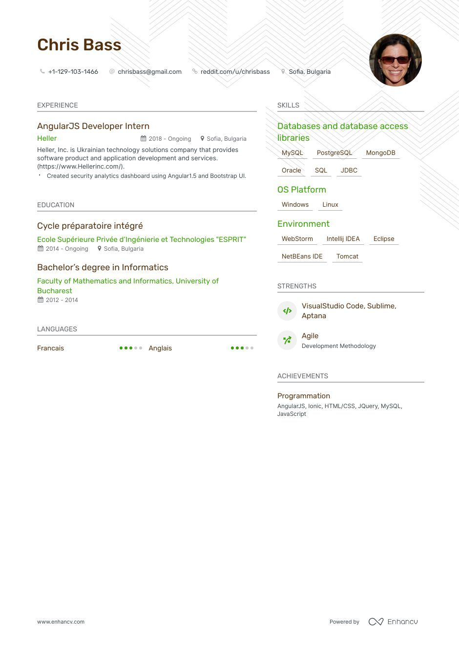 Top angularjs resume examples samples for 2020 resume