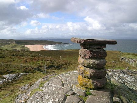 Viewpoint above Redpoint, Looking South, Scotland