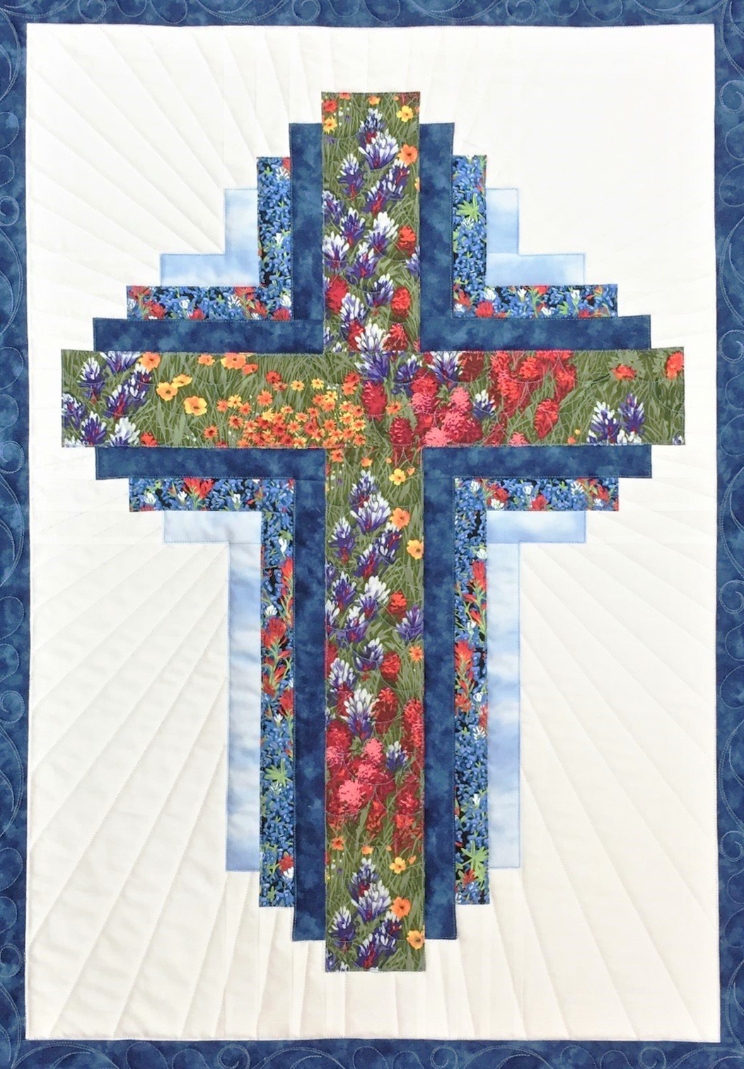 Hope Of Texas Cross Pattern Only Quilts Cross Quilt