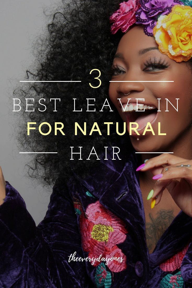 Best Leave In Conditioners for Dry Natural Hair Dry