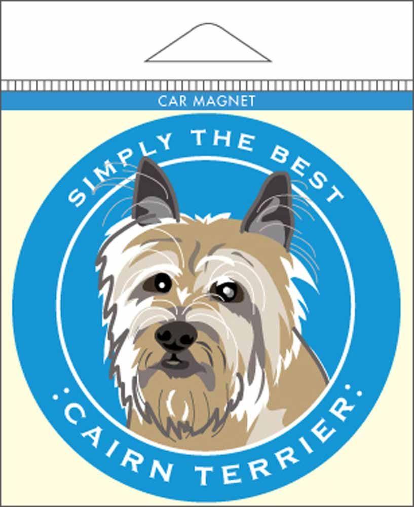 Cairn Terrier Car Magnet 4x4 Cairn Terrier Terrier Yorkie Terrier