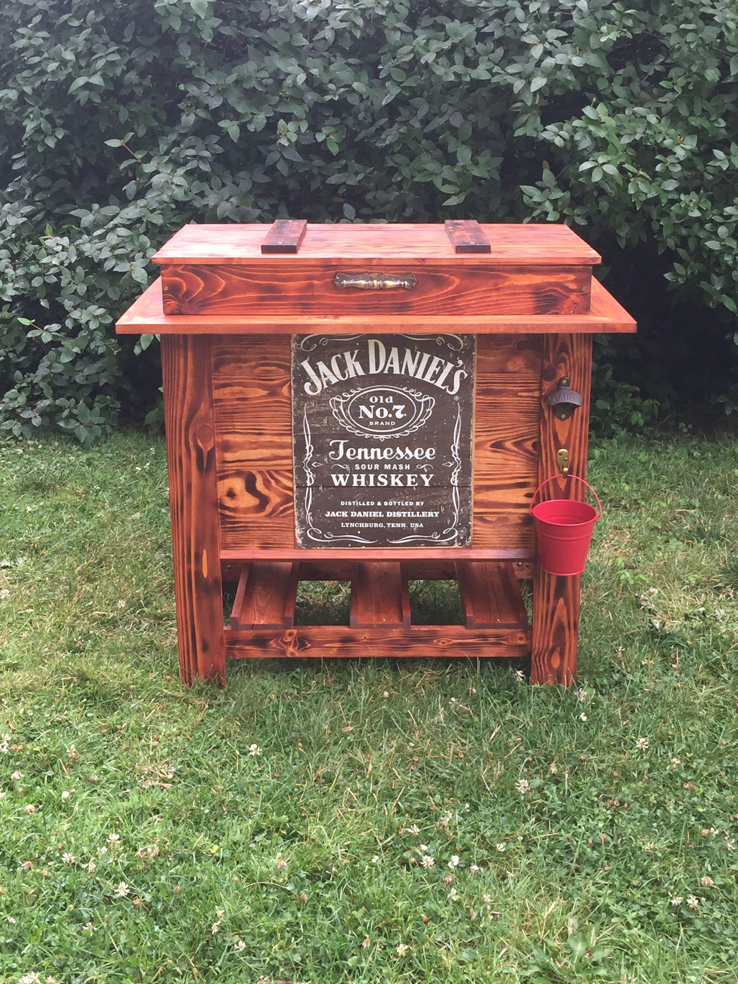 Wood Patio Cooler Plans: DIY Wooden Cooler Jack Daniels (check Us Out!)