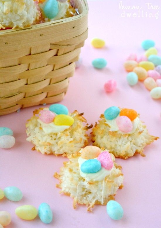 Handmade Easter Food Ideas Nest Cookie DIY Candy Inspiration Creative