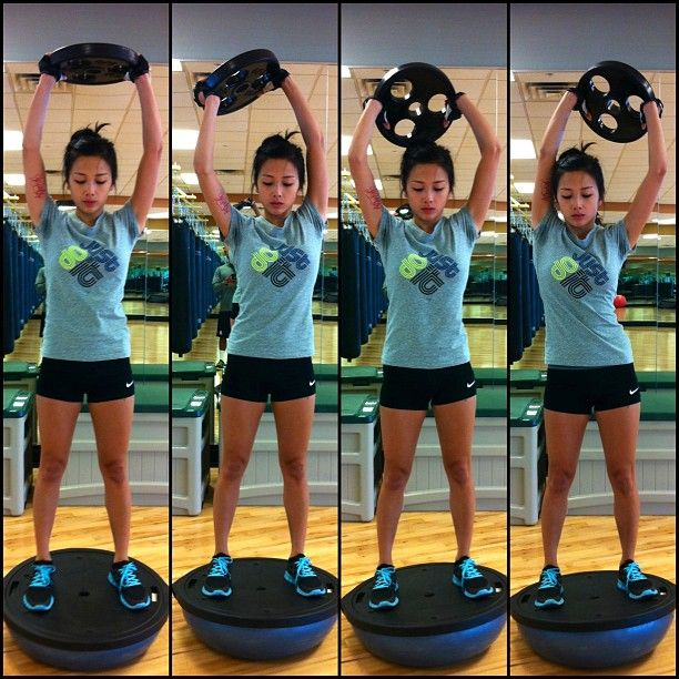 Bosu Ball Total Body Workout: Instagram Post By Don't Worry About Me... (@laramirasol